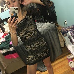 Ultra fabulous Audrey 3 + 1 lace dress
